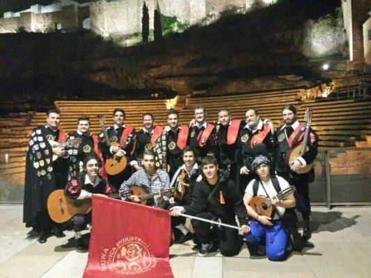 banda de musica, tuna de peritos, en residencia universitaria en malaga, Rut