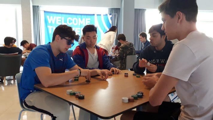 torneo de poker estudiantes, residencia universitaria en malaga, Rut