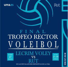 trofeo rector voleibol, residencia universitaria en malaga