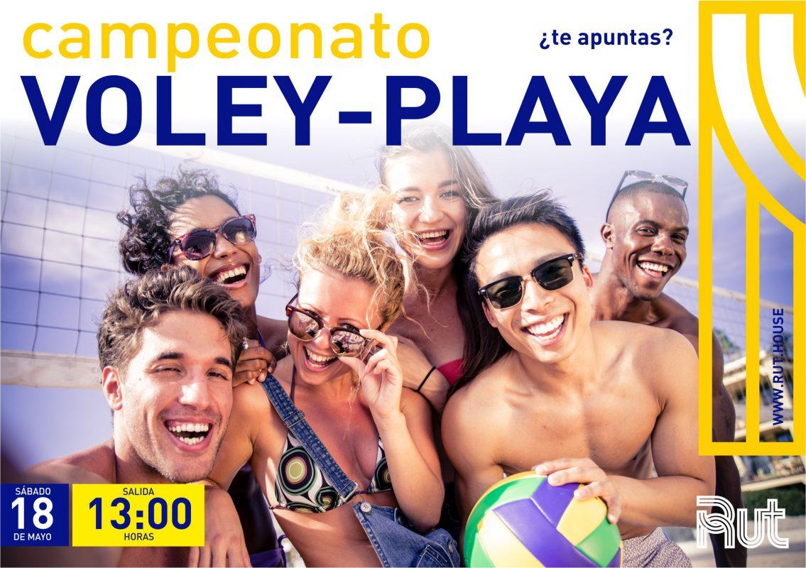 campeonato voleibol-playa, residencia universitaria en malaga