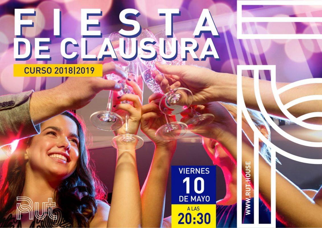 Fiesta clausura Residencia Universitaria en Malaga